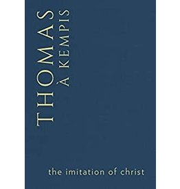 The Imitation of Christ by Thomas A Kempis (Navy Hardcover)
