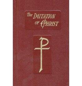 Catholic Book Publishing The Imitation of Christ by Thomas a Kempis (Maroon Hardcover)
