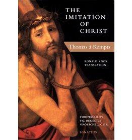 Ignatius Press The Imitation of Christ by Thomas a Kempis (Ronald Knox Translation, Paperback)