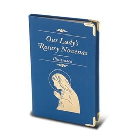 Hirten Our Lady's Rosary Novenas: Illustrated (Small Italian Blue Leatherette Binding)