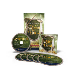 Augustine Institute The Legends of Robin Hood Audio Drama & Discussion Guide (6 CD set)