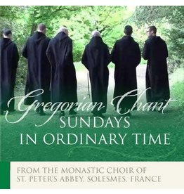 Paraclete Press Sundays in Ordinary Time: Gregorian Chant (CD)