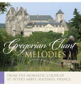 Paraclete Press Gregorian Chant Melodies Vol. I (CD)