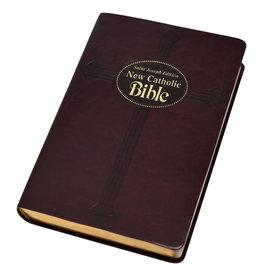 Catholic Book Publishing St. Joseph New Catholic Bible (Large Type) (Burgundy Duralux Binding)