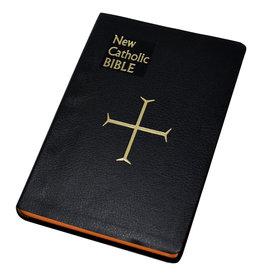 Catholic Book Publishing St. Joseph New Catholic Bible (Large Type) (Black Imitation Leather Binding)