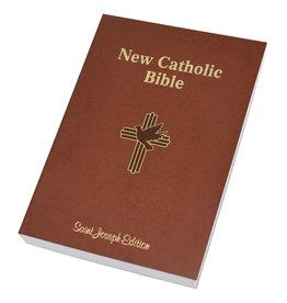 Catholic Book Publishing St. Joseph New Catholic Bible (Large Type) (Brown Paperback)