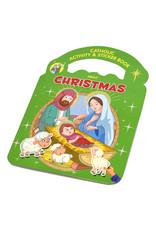 Catholic Book Publishing Catholic Activity & Sticker Book About Christmas (Paperback)