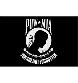 Annin 2 ft. X 3 ft. Nyl-Glo Pow-Mia Flag Black Double Sided