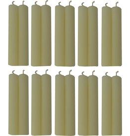 "Biedermann 1/2"" x 4"" Candles - Ivory"