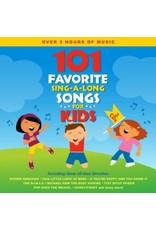 101  Favorite Sing-A-Long Songs for Kids 3 CD Set