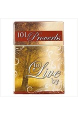 Christian Art Gifts 101 Proverbs to Live By in a Box, A Box of Blessings