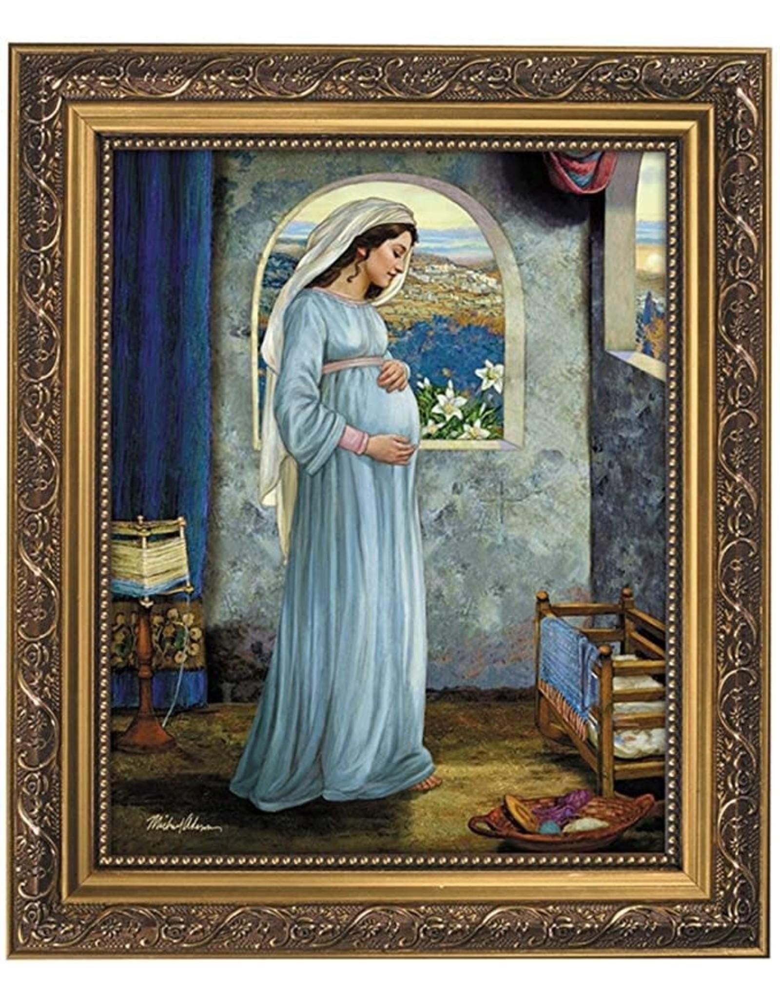 "Christian Brands 13"" Adams Mary Mother Framed Print"