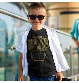 Kerusso Kid's Armor of God Kid's T-Shirt