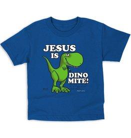 Kerusso Kid's Jesus is Dino-mite! Kid's T-Shirt