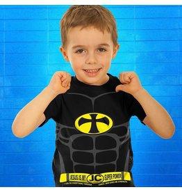 Kerusso Kid's Jesus Christ is my Super Power Kid's T-Shirt