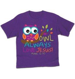 Kerusso Kid's Owl Kids T-Shirt
