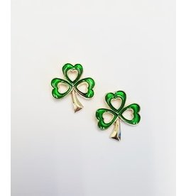 Timeless Irish Treasures Shamrock Earrings