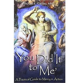 Association of Marian Helpers You Did It to Me: A Practical Guide to Mercy in Action by Michael E. Gaitley, MIC (Paperback)