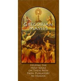 Marian Press Gregorian Masses (Pamphlet)