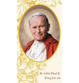 Association of Marian Helpers St. John Paul II Prayer Card