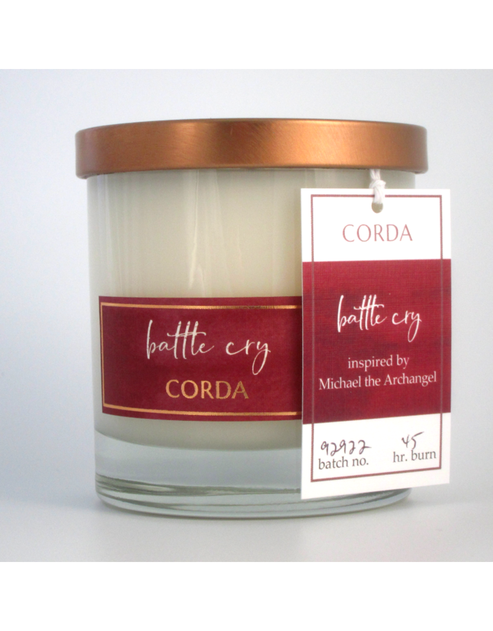 Corda Battle Cry   St. Michael the Archangel - Spices + Sandalwood + Incense