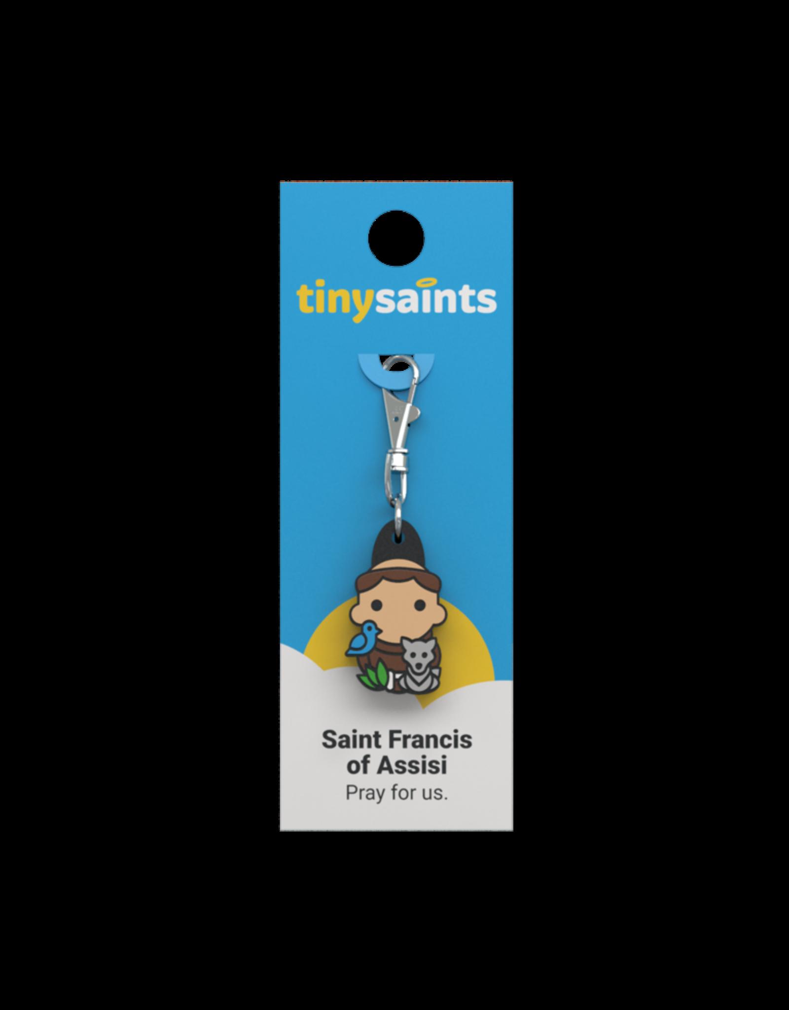 Tiny Saints Tiny Saints Charm - St Francis of Assisi