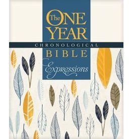 The One Year Chronological Bible: Expressions - NLT  Creative Coloring and Journaling Bible