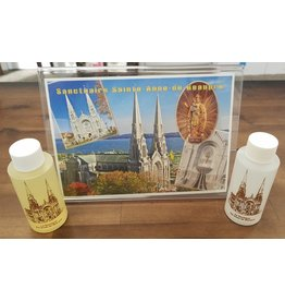 Holy Oil Blessed at St. Anne de Beaupre Basilica