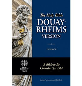 Tan Books Douay-Rheims Bible (Paperbound)
