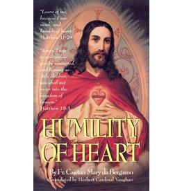Tan Books Humility Of Heart by Rev. Fr. Cajetan Da Bergamo (Paperback)