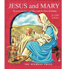 Tan Books Jesus And Mary: The Lives Of Jesus And Mary And The Story Of Fatima by Various Authors (Hardcover)