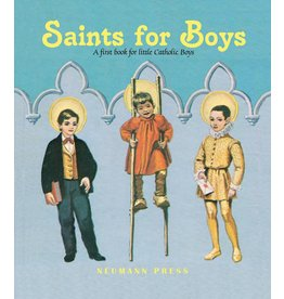 Tan Books Saints For Boys: A First Book For Little Catholic Boys by Various Authors (Hardcover)