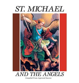 Tan Books Saint Michael And The Angels: A Month With St. Michael And The Holy Angels (Paperback)
