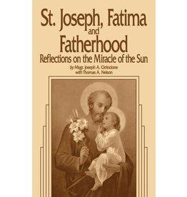 Tan Books Saint Joseph, Fatima And Fatherhood: Reflections On The Miracle Of The Sun by Rev. Fr. Joseph A. Cirrincione (Paperback)