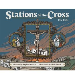 Tan Books Stations Of The Cross For Kids by Regina Doman (Paperback)