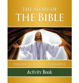Tan Books The Story Of The Bible Volume 2: The New Testament (Activity Book) (Paperback)