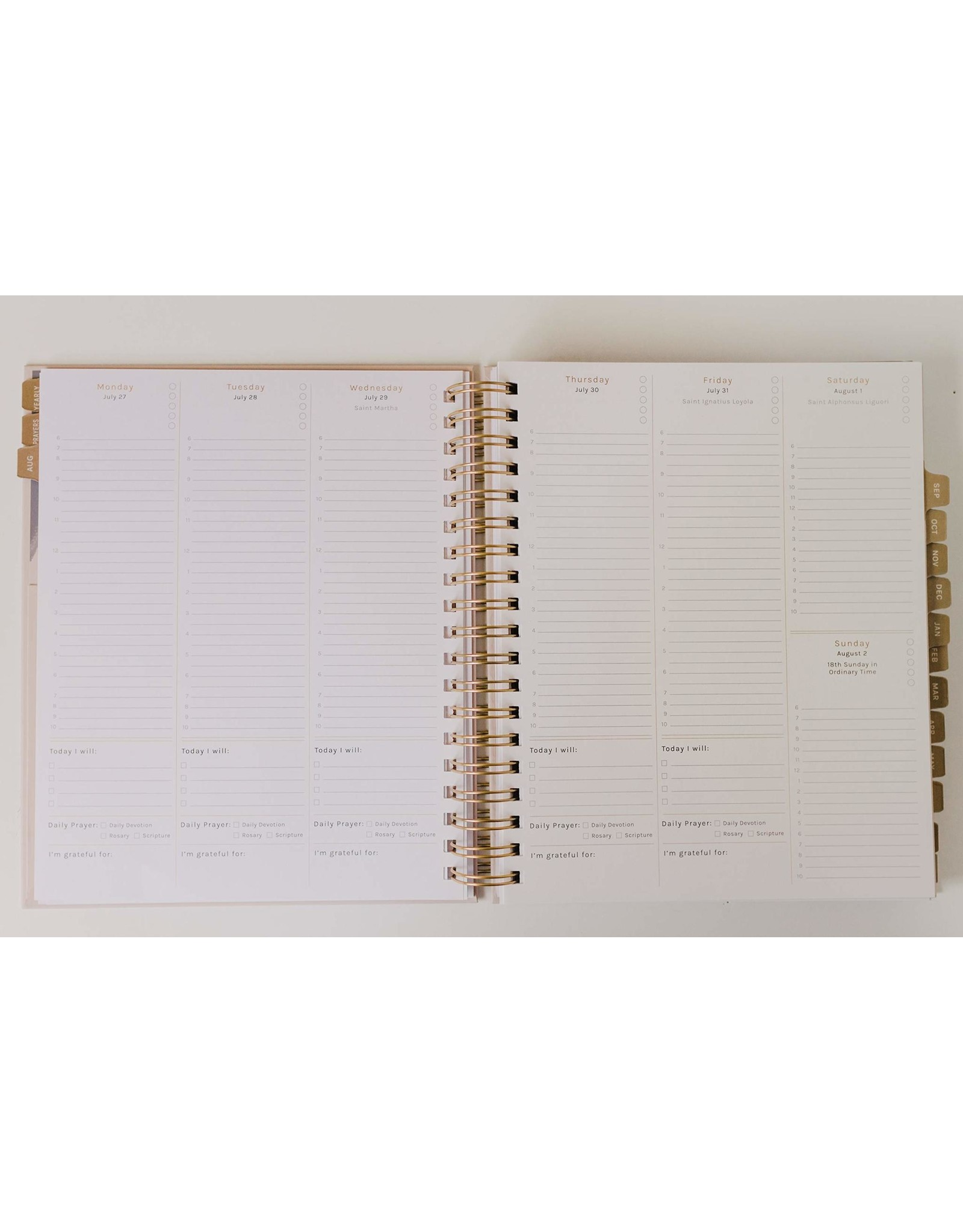 Blessed is She 25% OFF - Blessed is She 2021 Liturgical Planner Spiral Bound (Large)
