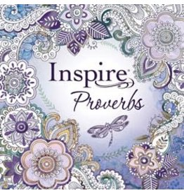 Inspire Proverbs: Coloring and Creative Journaling through Proverbs (Paperback)