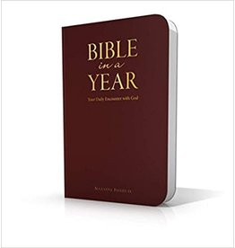 Augustine Institute Bible in a Year: Your Daily Encounter with God (Lux Leather Binding)