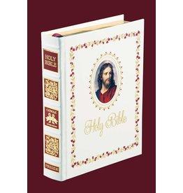Fireside Catholic Publishing Fireside Signature Edition Catholic NABRE Bible - White