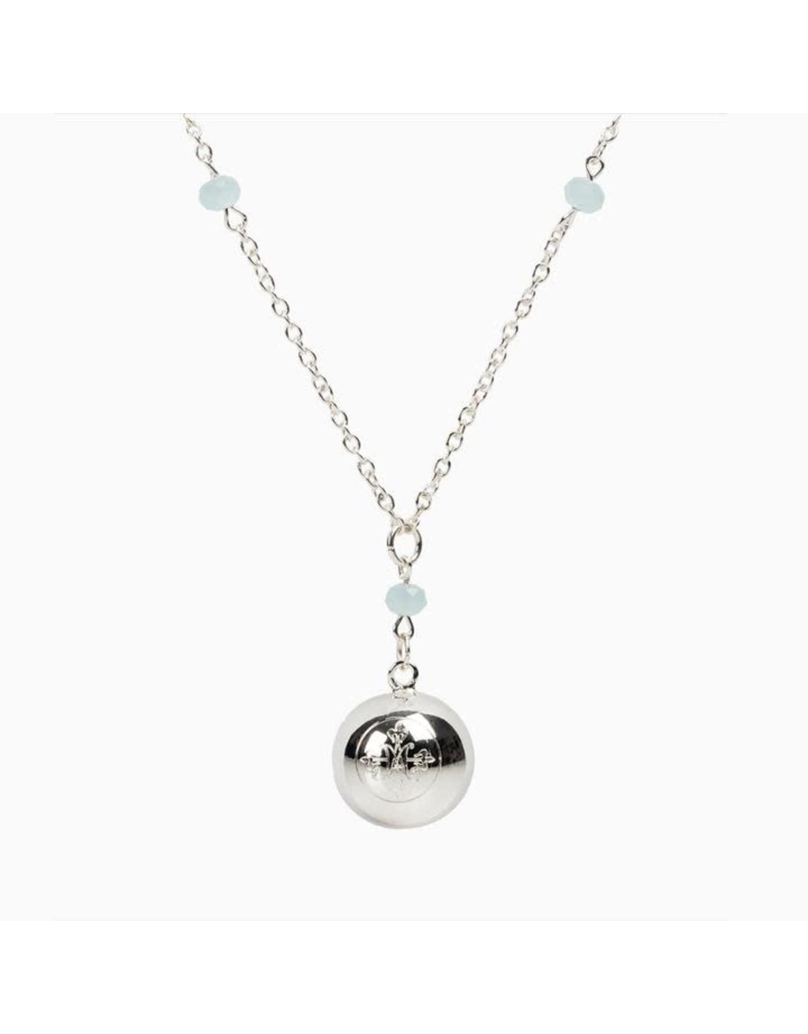 My Saint My Hero Awaken Magdalena Medallion Chime Necklace