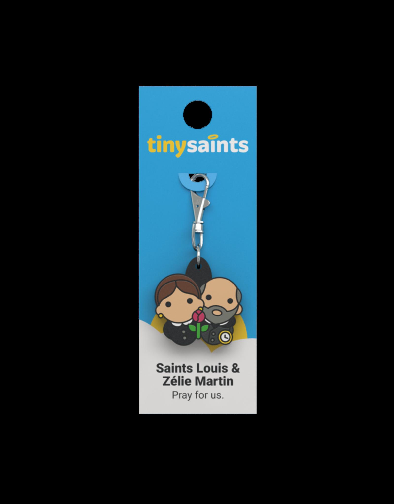 Tiny Saints Tiny Saints Charm - St Louis and Zélie Martin