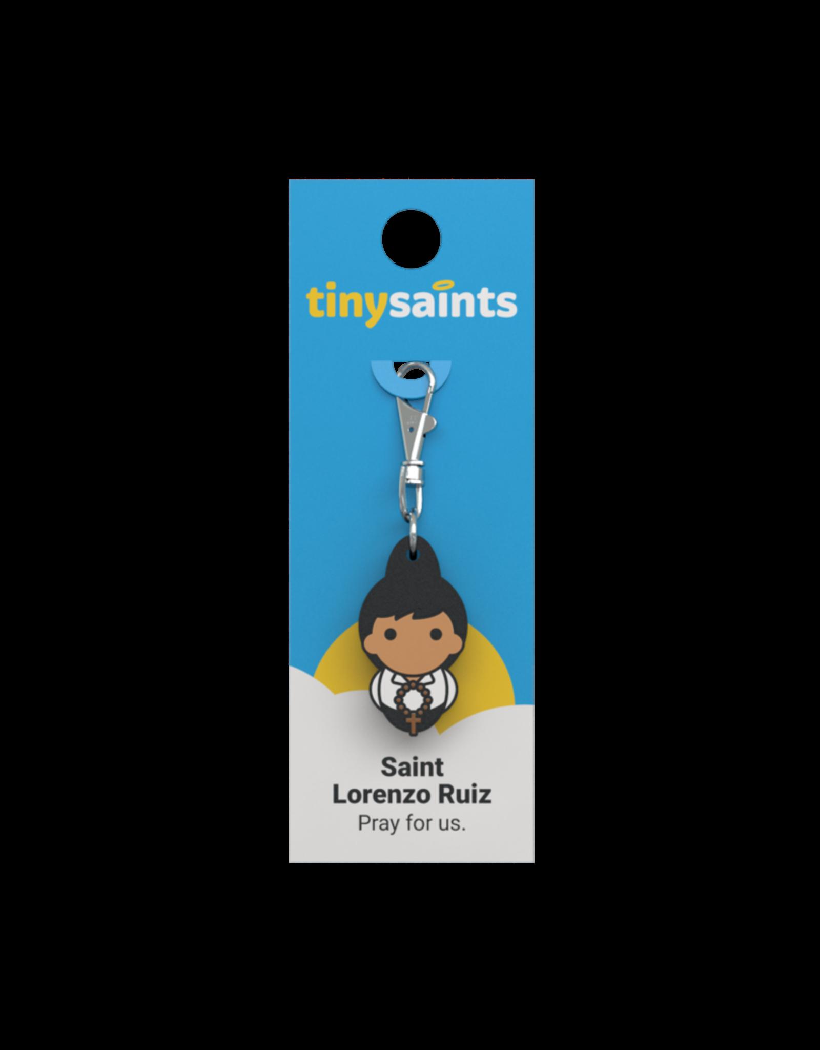 Tiny Saints Tiny Saints Charm - St Lorenzo Ruiz