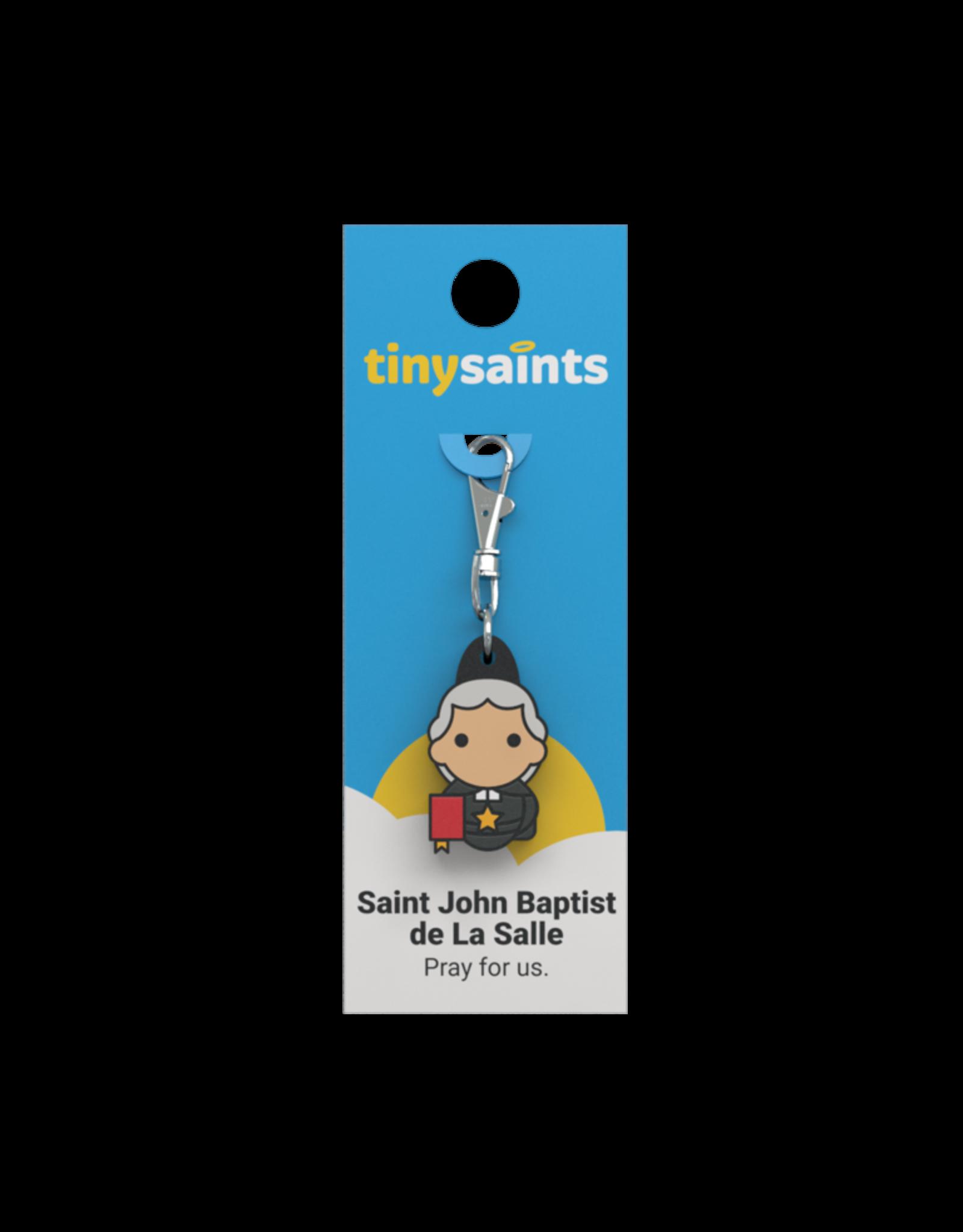 Tiny Saints Tiny Saints Charm - St John Baptist de La Salle