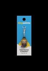 Tiny Saints Tiny Saints Charm - St Damien of Moloka'i