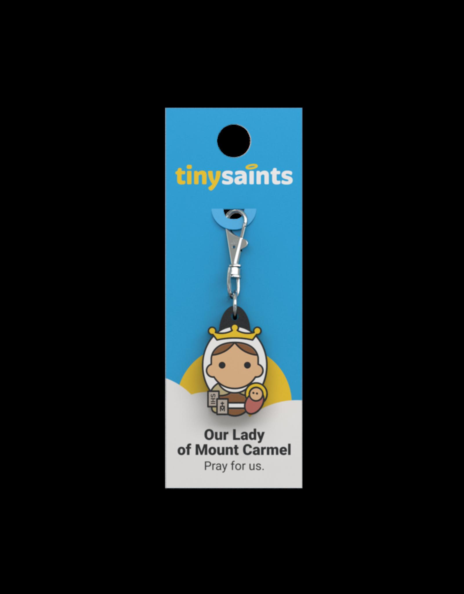 Tiny Saints Tiny Saints Charm - Our Lady of Mount Carmel