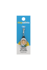 New Day Tiny Saints Charm - Our Lady of Lourdes