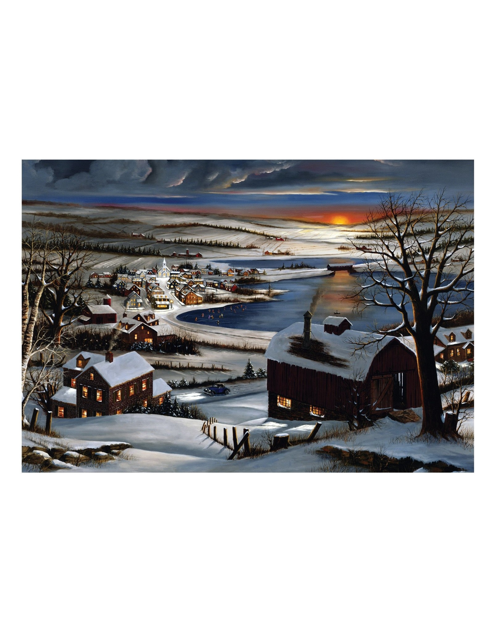 Rivers Edge Products Almost Home LED Art