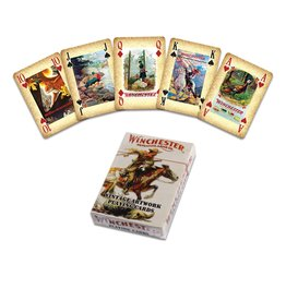 Rivers Edge Products Playing Cards - Winchester