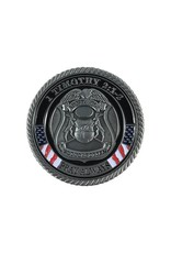 Thin Blue Line USA Challenge Coin - Armor of God